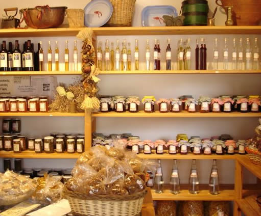 naxos local products