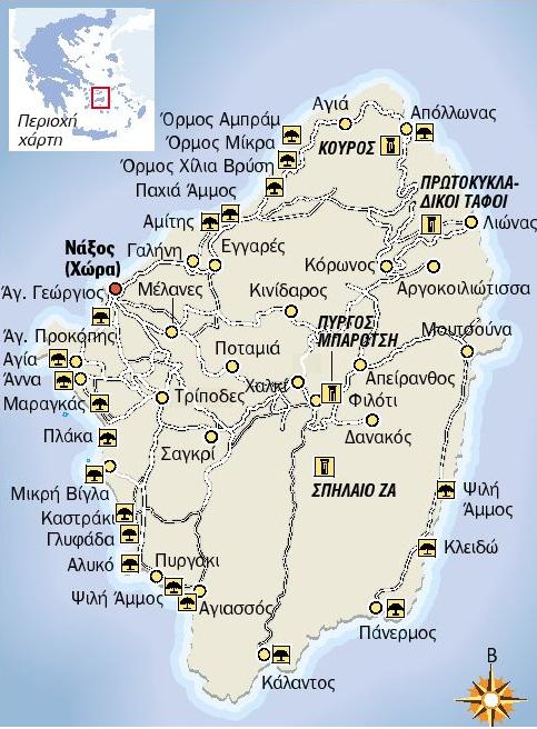 naxos map map of naxos naxos hotels naxos island agios